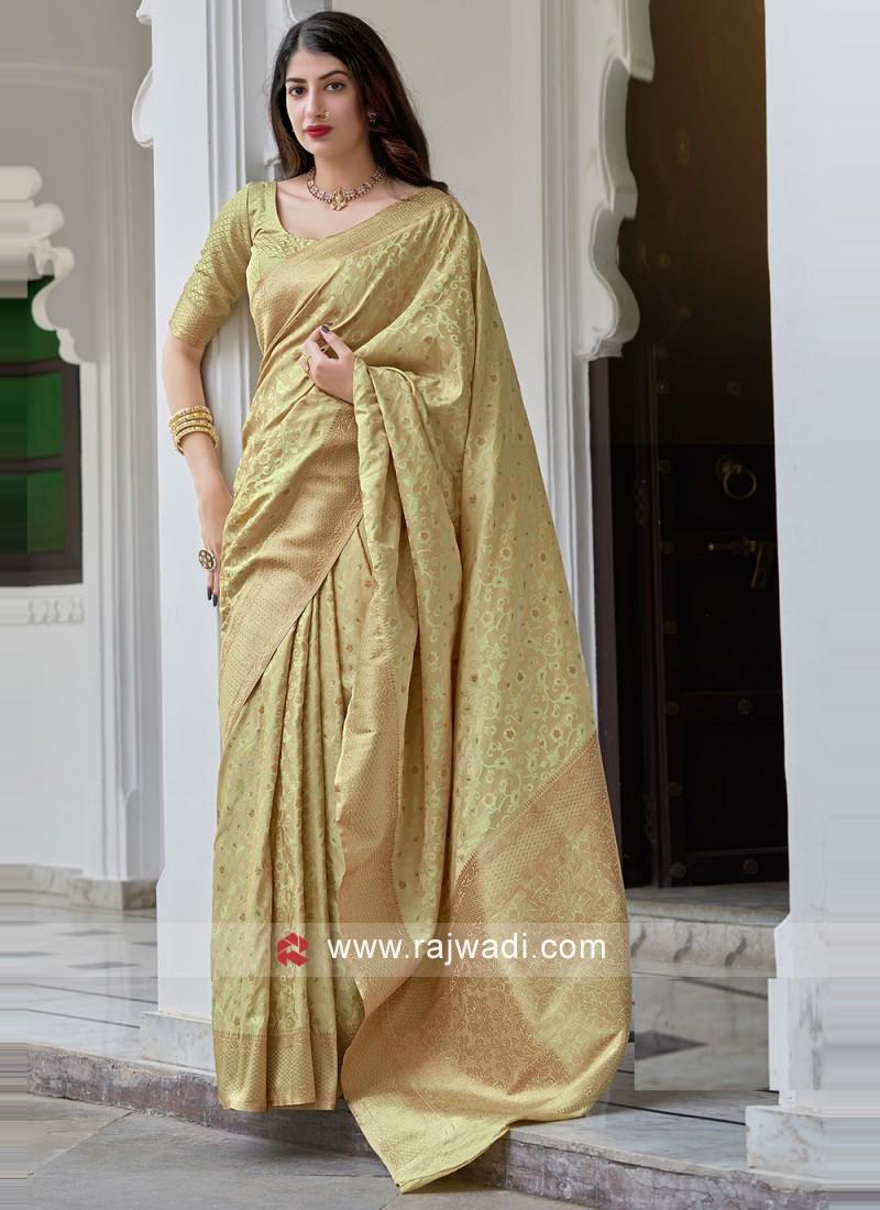 Mystical Satin Silk Festival Traditional Saree