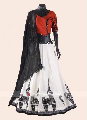 Navrati Special Gamthi Style Chaniya Choli