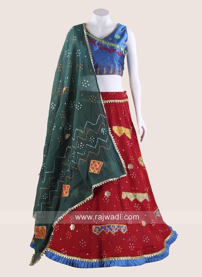Navratri Chaniya Choli in Multicolour