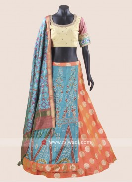 Navratri Chaniya Choli with Printed Dupatta