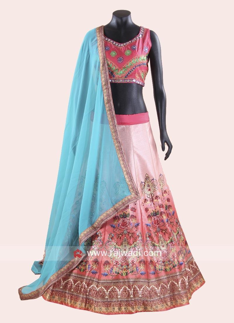 Navratri Chaniya Choli with Thread Work