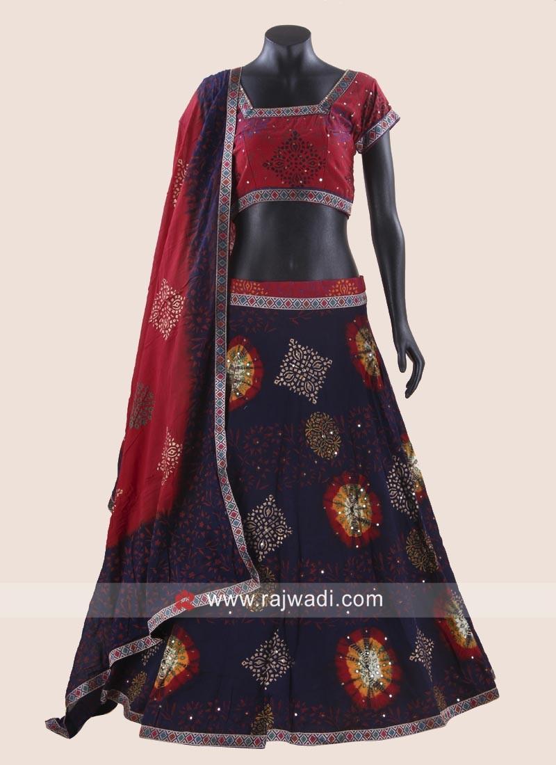 Navratri Cotton Chaniya Choli