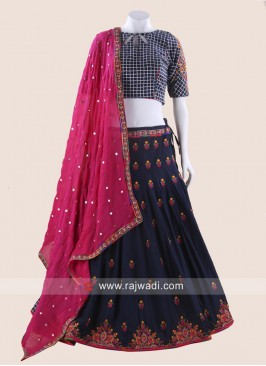 Navratri Cotton Silk Chaniya Choli