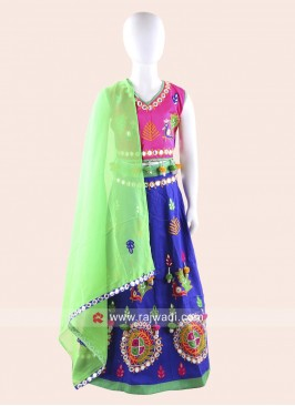 Navratri Special Chaniya Choli for Kids