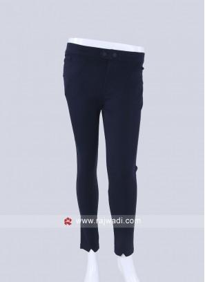 Navy Blue Slim Fit Jeggings