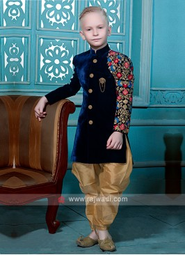 Navy Color Indo Western for Boys