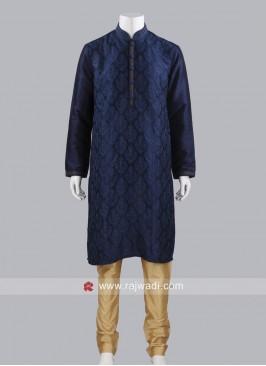 Navy Color Kurta Pajama