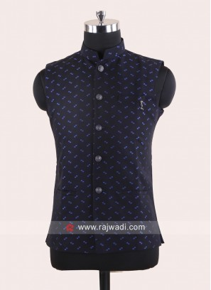 Navy Color Mens Koti