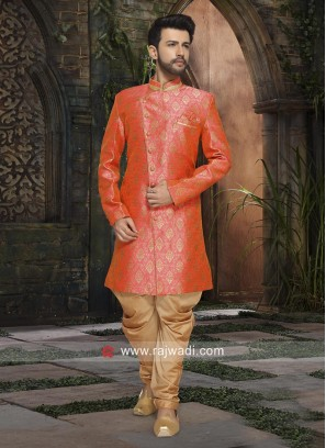Stylish Pink Color Indo Western