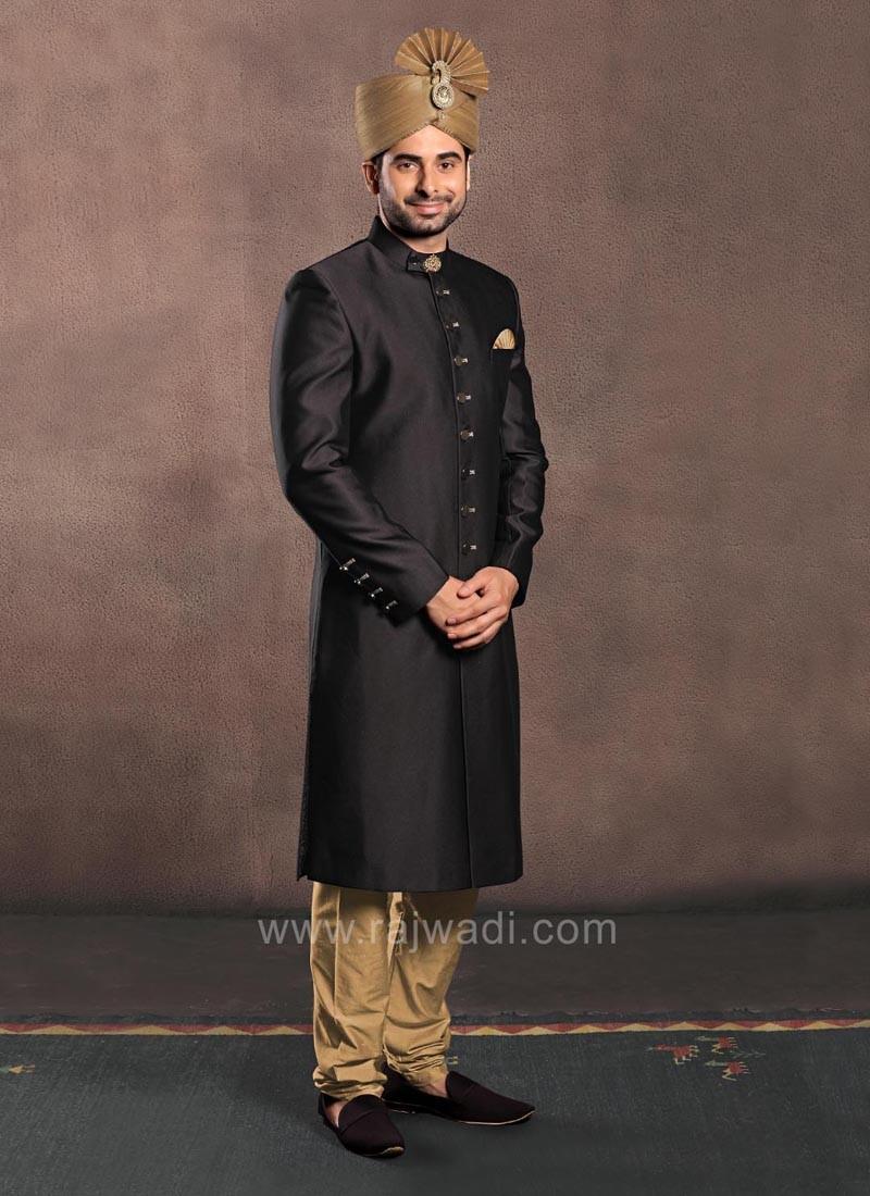 Nawabi Style Sherwani