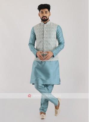 Nehru Jacket Suit For Men