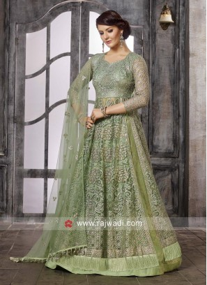 Stylish Heavy Work Salwar Suit