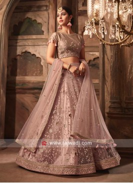 Net Designer Wedding Lehenga Choli