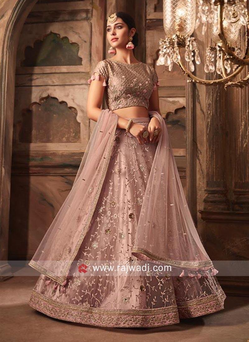 Net Designer Wedding Lehenga Choli