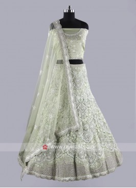 Net Fabric Exclusive Wedding Lehenga Choli
