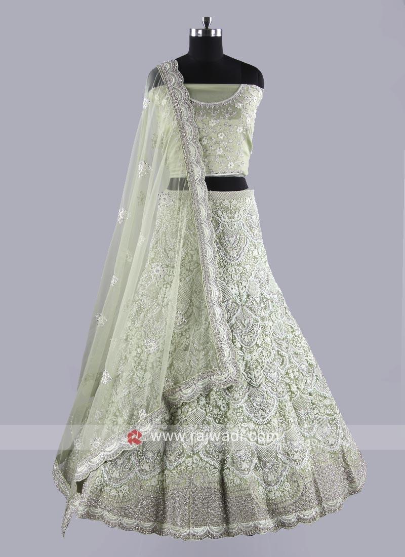 Net Fabric Exclusive Wedding Lehenga Choli