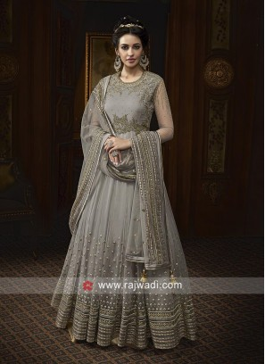 Net Floor Length Salwar Kameez