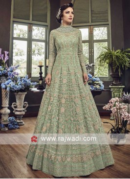 Net Heavy Work Salwar Kameez