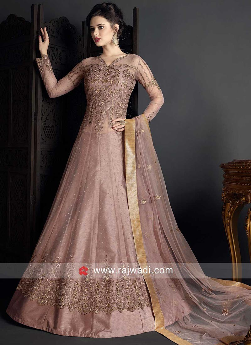 Net Heavy Work Salwar Kameez