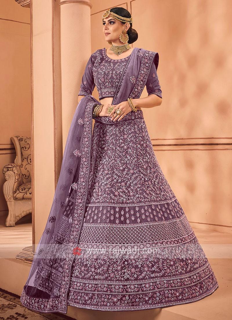 Net Lehenga Choli For Wedding