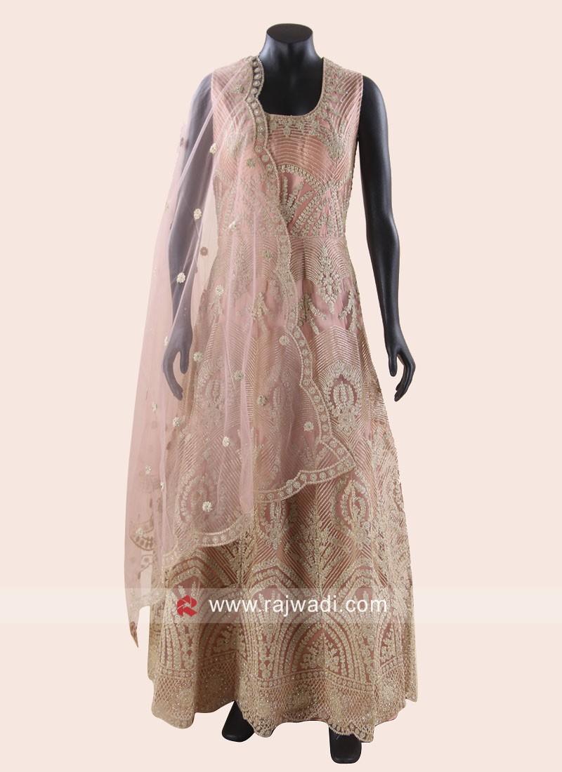 Net Wedding Anarkali Salwar Kameez