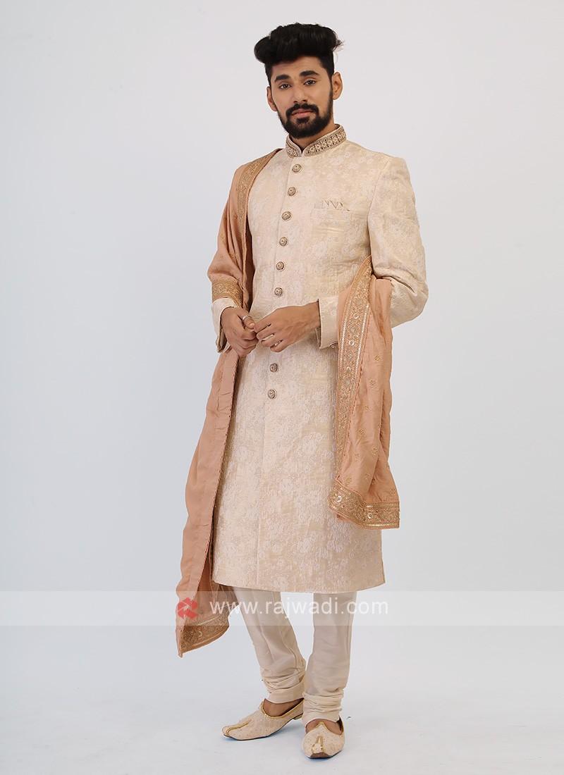 Off-White Sherwani