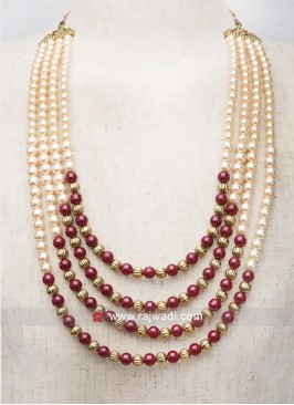 Groom Wedding Pearl Mala