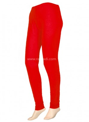 Online Red color Leggings