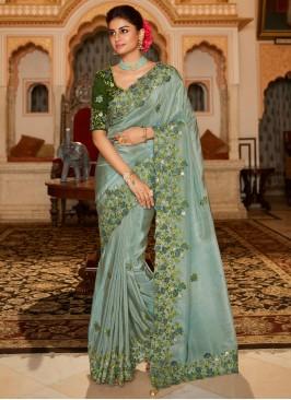 Opulent Patch Border Traditional Designer Saree