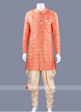 Orange Color Patiala Suit