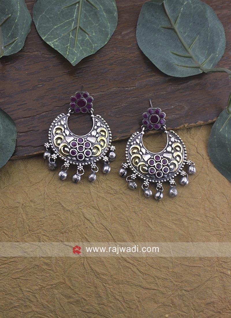 Oxidize Dangler Earrings