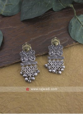 Oxidize Jhumka Earrings