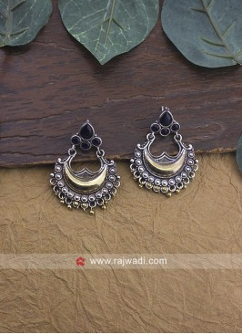 Oxidize Stud Earrings