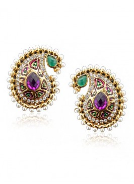 Paisley Pearl Delight Earrings