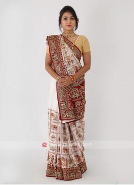 Panetar Gajji Silk Saree