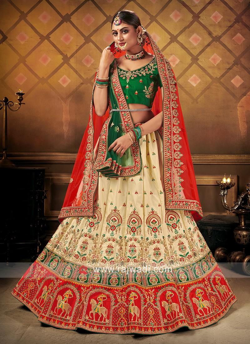 Panetar Style Bridal Lehenga Choli