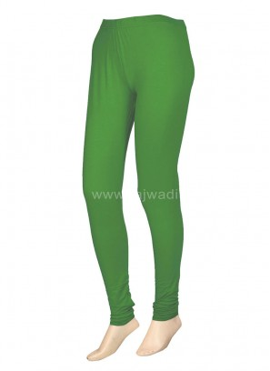 Parrot Green Colour Leggings