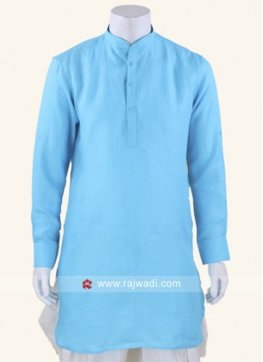 Party wear Aqua Kurta