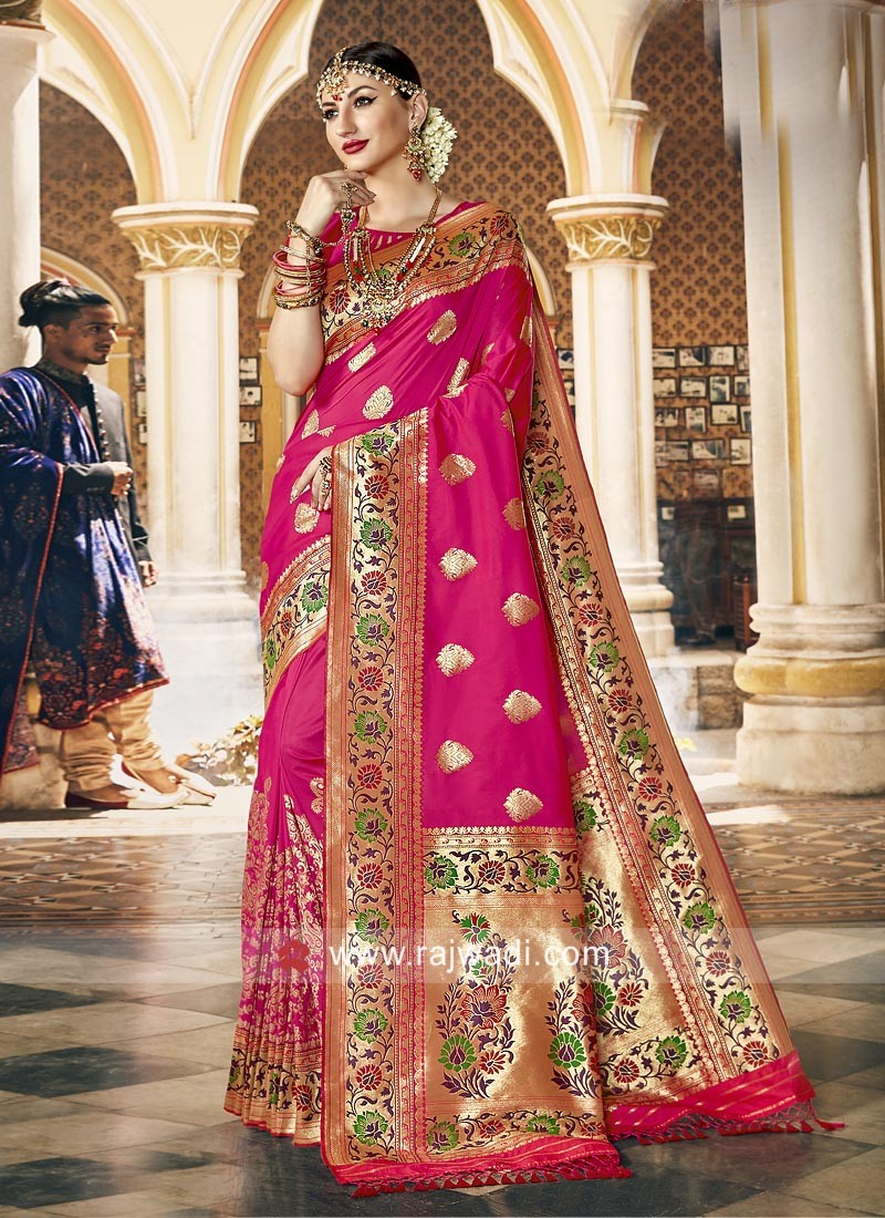 Party Wear Art Silk Saree
