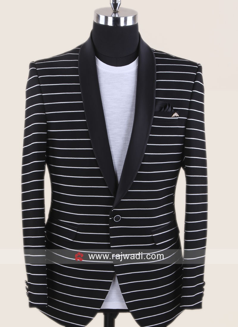 Party Wear Black Blazer