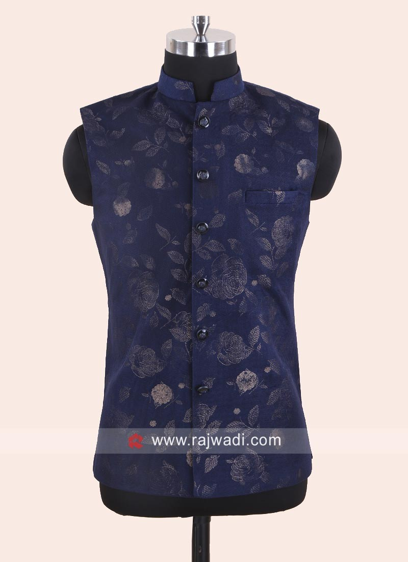 Party Wear Blue Color Koti