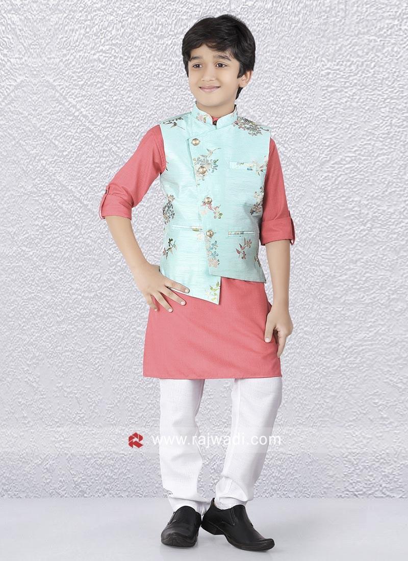 70ddc12b5df Party Wear boys Nehru Jacket