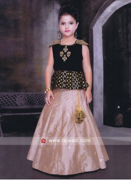Party Wear Choli Suit for Girls