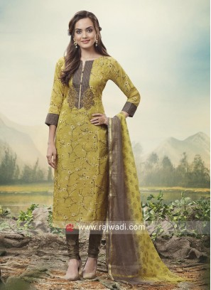 Party Wear Churidar Salwar Kameez