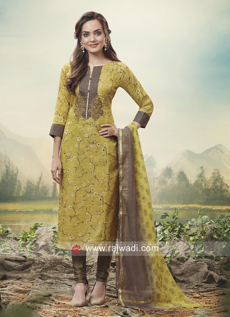 407b9df6e7 Party Wear Churidar Salwar Kameez. Hover to zoom