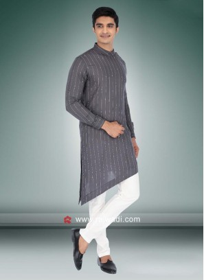 Party Wear Cotton Pathani Suit