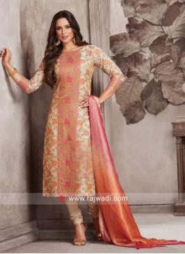Dressline Party Wear Designer Salwar Suit