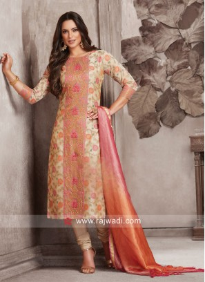 Dressline Party Wear Designer Salwar Suit