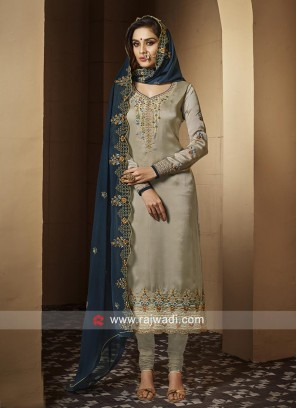 Party Wear Designer Salwar Suit with Dupatta