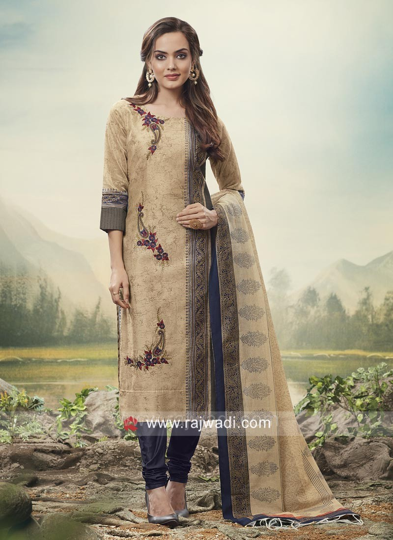 ca4c207fb7 Party Wear Embroidered Salwar Kameez. Hover to zoom